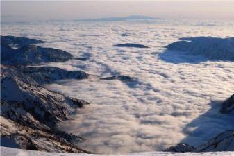 雲海と白山遠望 室堂山より